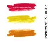 design elements   colored... | Shutterstock .eps vector #228188119