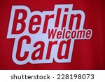 circa september 2014   berlin ... | Shutterstock . vector #228198073