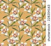 flower seamless pattern  | Shutterstock . vector #228204163