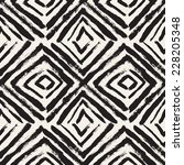 vector seamless pattern with... | Shutterstock .eps vector #228205348