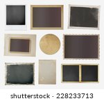 collection of various vintage... | Shutterstock .eps vector #228233713