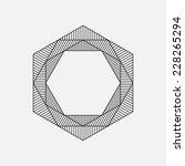 Hexagon  Geometric Element ...
