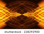 abstract orange background with ... | Shutterstock . vector #228292900