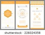 design pizza menu. vector...   Shutterstock .eps vector #228324358