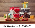 Christmas Holiday Concept With...