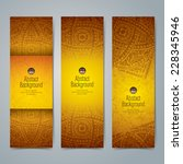 collection banner design ... | Shutterstock .eps vector #228345946