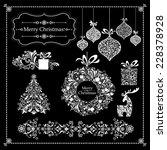 Christmas Decoration Set   Lot...