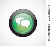 conversation glass sign icon...