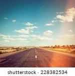 Filtered Image Of Deret Road