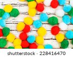 Multi Colored Bonbons On A...