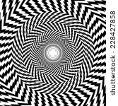vector optical illusion zoom... | Shutterstock .eps vector #228427858