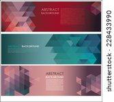 vector flyer design template.... | Shutterstock .eps vector #228433990