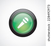 microphone glass sign icon...