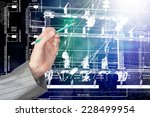 engineering construction... | Shutterstock . vector #228499954