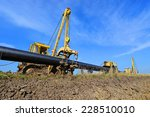 in the pipeline repairs  | Shutterstock . vector #228510010
