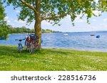 little break on lake bodensee... | Shutterstock . vector #228516736