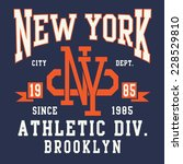 New York Sporting Typography  ...