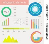 set of infographic templates | Shutterstock .eps vector #228531880