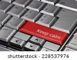 Computer Key   Keep Calm