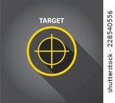 vector target icons . vector...   Shutterstock .eps vector #228540556