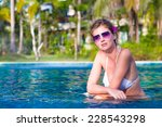 beautiful young woman in... | Shutterstock . vector #228543298