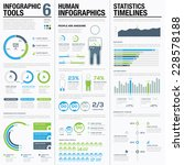 infographic elements blue and... | Shutterstock .eps vector #228578188