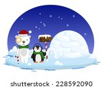 north pole | Shutterstock .eps vector #228592090