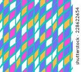 vector seamless bold harlequin... | Shutterstock .eps vector #228622654