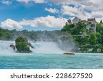 The Rhine Falls Is The Largest...