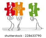 when thinking together finds... | Shutterstock .eps vector #228633790