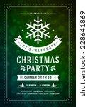 Christmas Party Invitation...