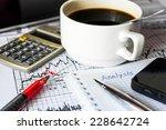 analysis of the stock market ... | Shutterstock . vector #228642724