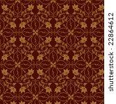 seamless vine wallpaper | Shutterstock .eps vector #22864612