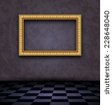 illustration picture frame in... | Shutterstock .eps vector #228648040