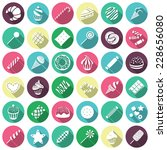 set of sweets icons. vector...   Shutterstock .eps vector #228656080
