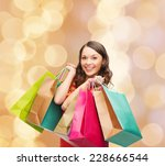 sale  gifts  christmas ... | Shutterstock . vector #228666544
