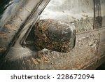 very dirty car   Shutterstock . vector #228672094
