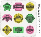 high quality assorted designs... | Shutterstock .eps vector #228712804