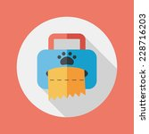 pet style tissue case flat icon ... | Shutterstock .eps vector #228716203