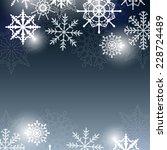 christmas vector background...   Shutterstock .eps vector #228724489