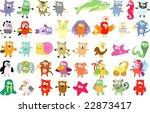 new set of animals 41 | Shutterstock .eps vector #22873417