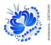 flower isolated on a white...   Shutterstock . vector #228754144
