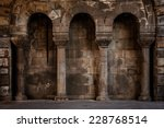 Old Wall With Columns  May Be...