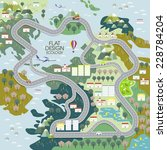 Top View Of Ecology Concept In...