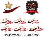 one star  two star  three star  ... | Shutterstock .eps vector #228808954