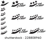 one star  two star  three star  ... | Shutterstock .eps vector #228808960