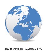 europe global world  | Shutterstock . vector #228813670