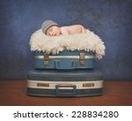 A Little Newborn Baby Is...