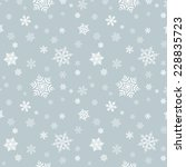 Snowflake Pattern - Snowflake vector pattern. Each snowflake is grouped individually for easy editing.