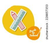 school graphic design   vector... | Shutterstock .eps vector #228857353